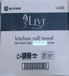 Kitchen Towel 2 ply 240 sheet 12 rolls